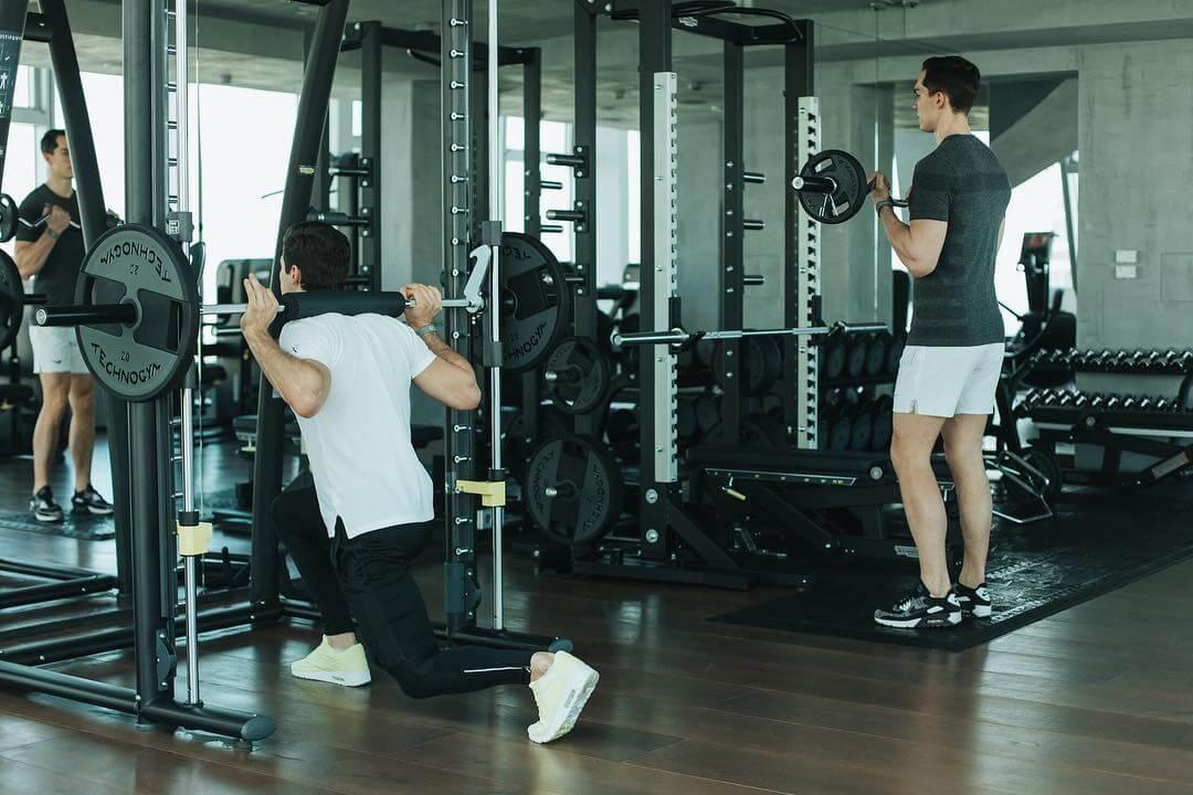 Зона силовых тренировок