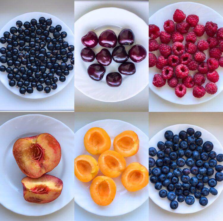 Как выглядят 100 грамм ягод и фруктов (проверь свой глазомер)
